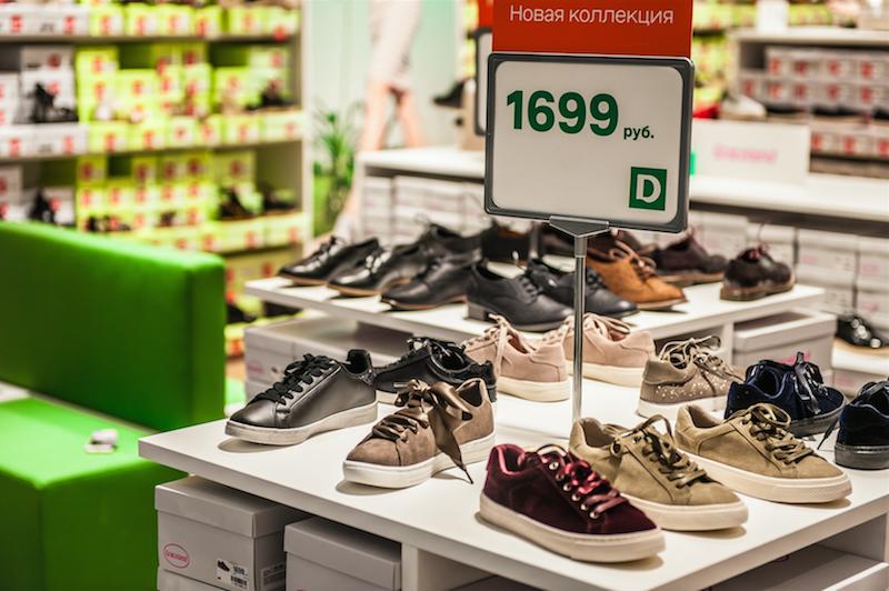 98e6ffb1 В новом магазине ростовчане смогут приобрести обувь от собственных линий  DEICHMANN (Graceland, Catwalk, 5th Avenue) и всемирно известных марок Nike,  Adidas, ...