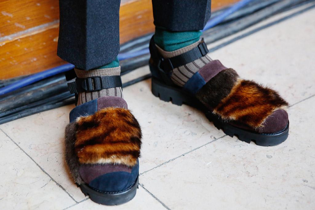 Fur Sandals Kolor
