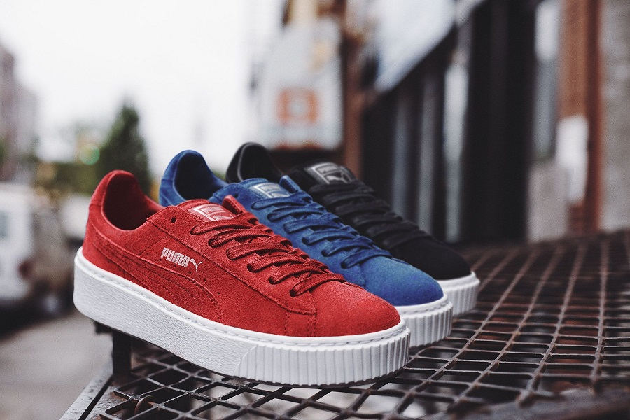Iconic PUMA Suede Sneakers