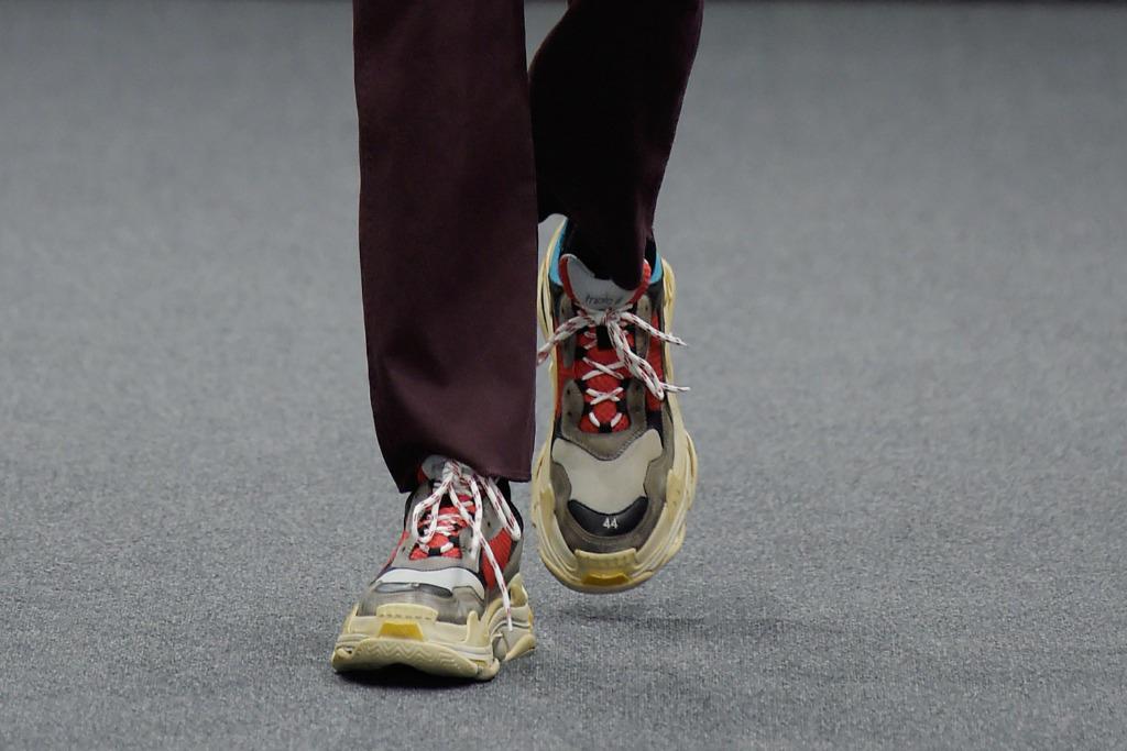 Colored sneakers Balenciaga