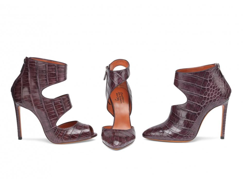 Santoni Ankle Boots - Crocodile