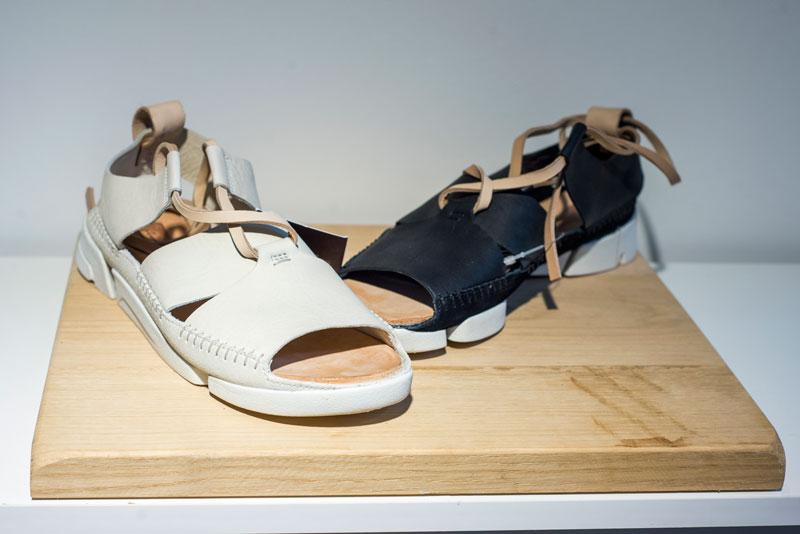 Schuhe zum Ausprobieren