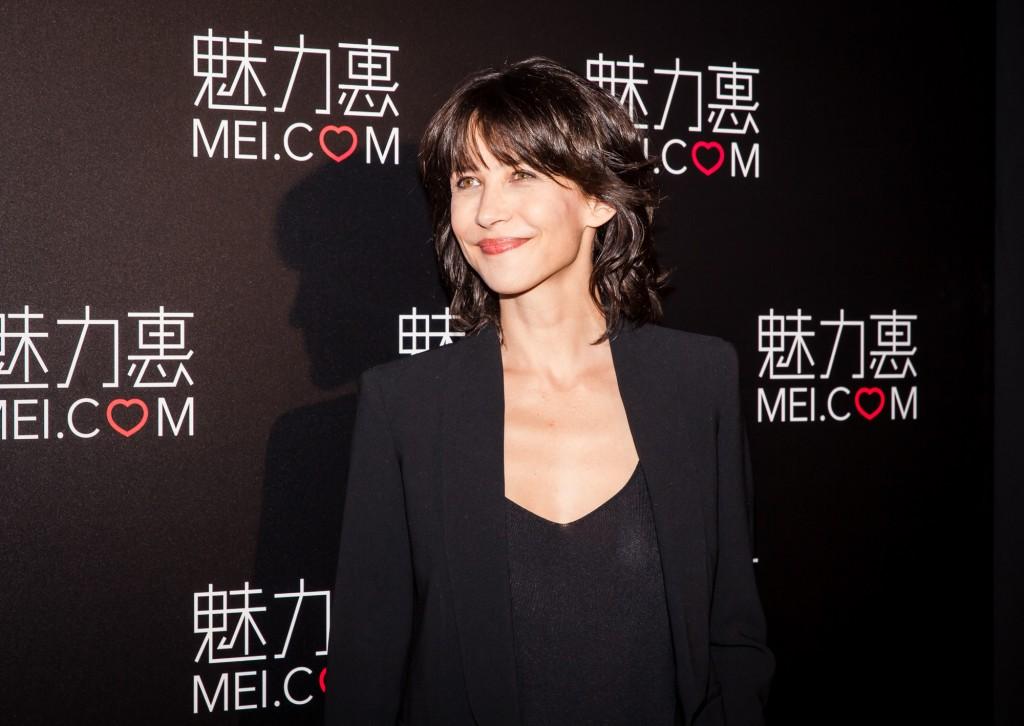 Sophie Marceau in Shanghai