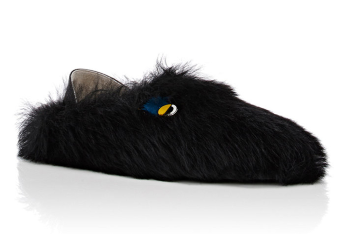 Cozy and funny slippers Fendi