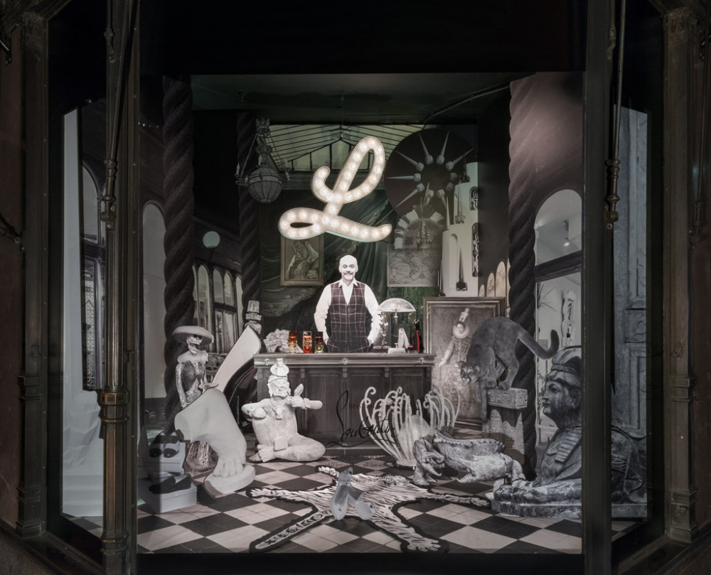 Saks Fifth Avenue Showcase en Nueva York