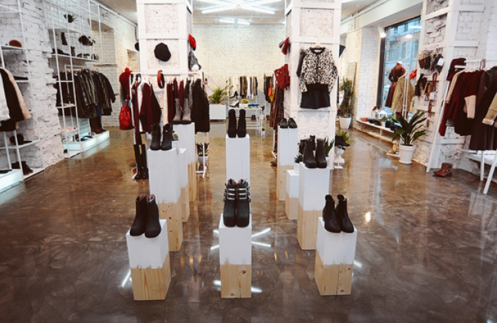 The flagship store LUUK opened in Moscow