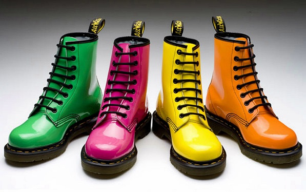 Dr. Martens will present a collection of ninja turtles