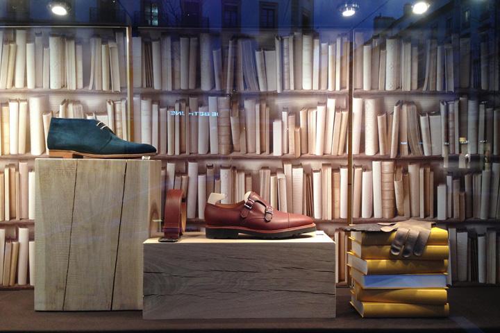 Presenta vetrine per scarpe