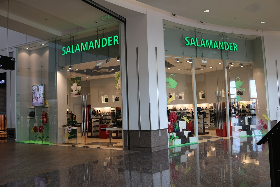 Salamander launched an online store in Russia