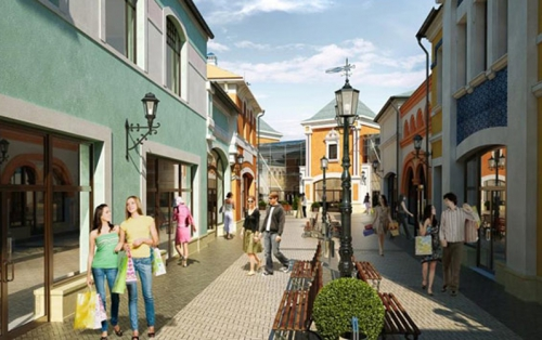 The second phase of Outlet Village Belaya Dacha is scheduled for late December
