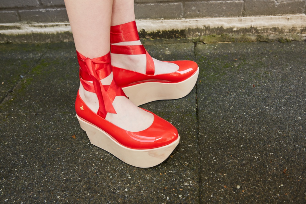 Melissa x Vivienne Westwood recreated the iconic shoe model from 80's