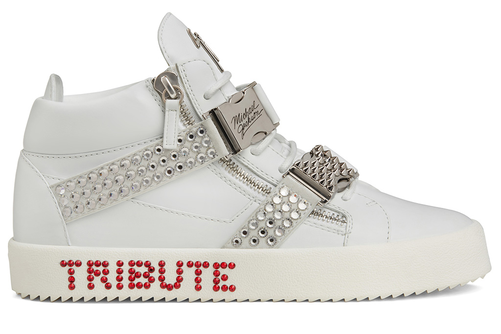 Guizeppe Zanotti created Michael Jackson sneakers for fans