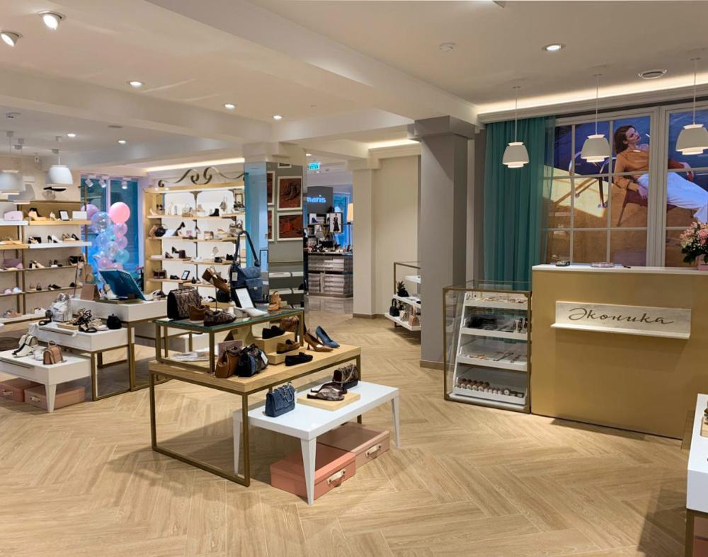 "Salon of shoes ""Econika"""
