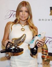 Fergie released a shoe capsule