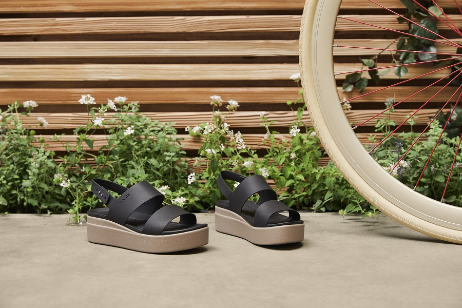 Crocs introduced two new products: sandals and slippers