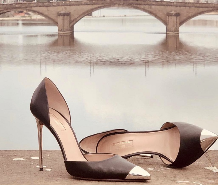 Aquazzura and Vera Brezhneva released a joint collection