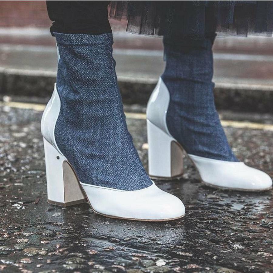 Tendenza stretch o stivali calzini in arrivo