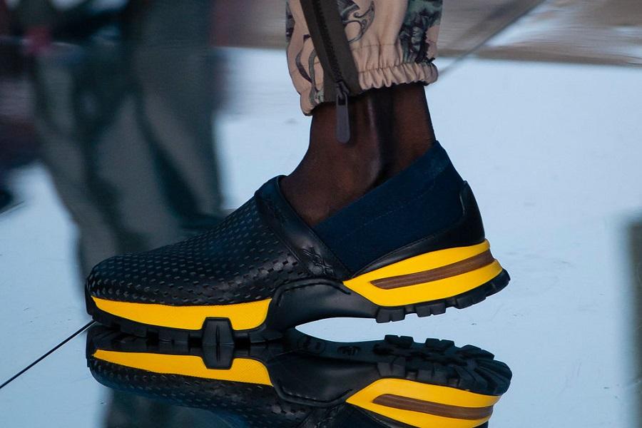 6 bright pairs of shoes Men's Fashion Week in Milan
