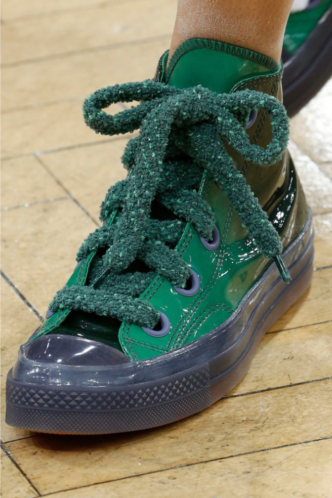 JW Anderson presented a collaboration with Converse