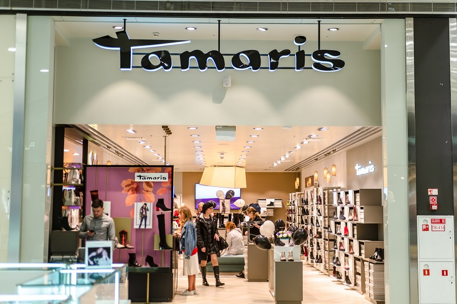 Tamaris opened a store in Omsk