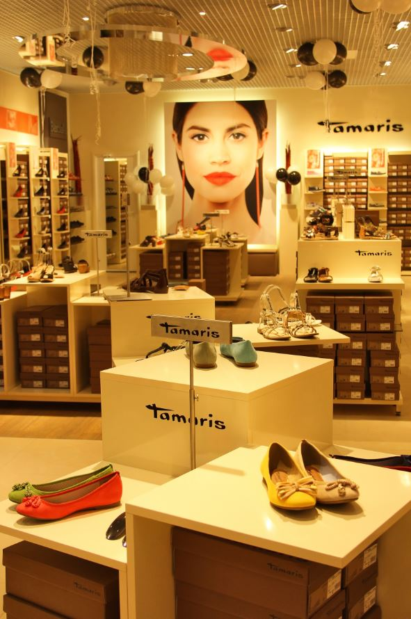 The first Tamaris branded stores in Tver and Biysk