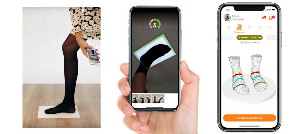 So funktioniert das virtuelle Anpassen von Schuhen bei FITTIN