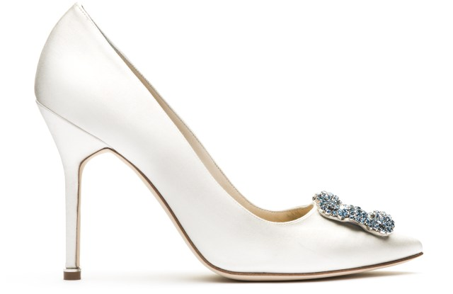 Manolo Blahnik Launches Bridal Collection