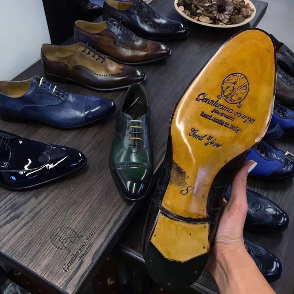 Gentiluomo scarpe opened the third store in Moscow