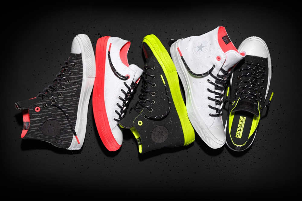 Sneakers from the new Converse collection - rainproof