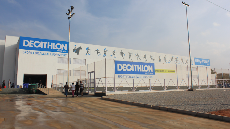 Decathlon store will be built in Omsk