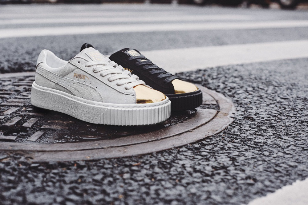 The updated design of the PUMA Suede model