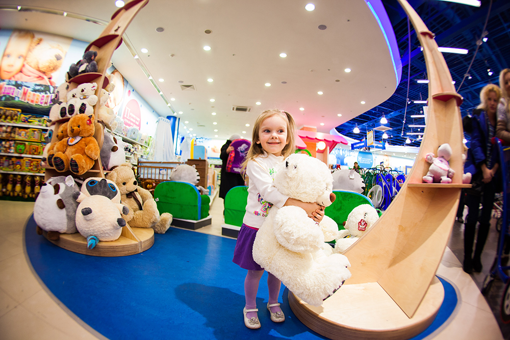 "110-th ""Children's World"" in Moscow"