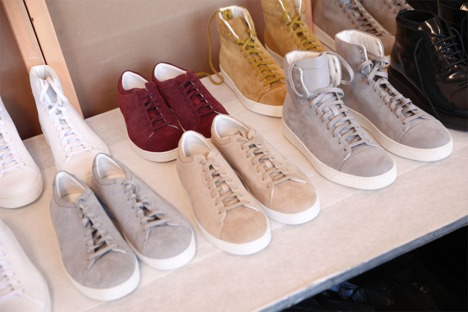 Sneakers on the catwalk of New York Fashion Week