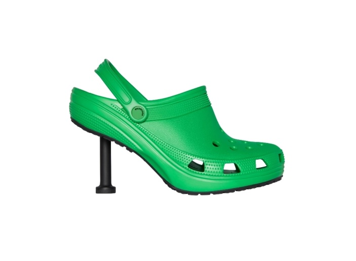 New collaboration between Balenciaga and Crocs explodes the internet again