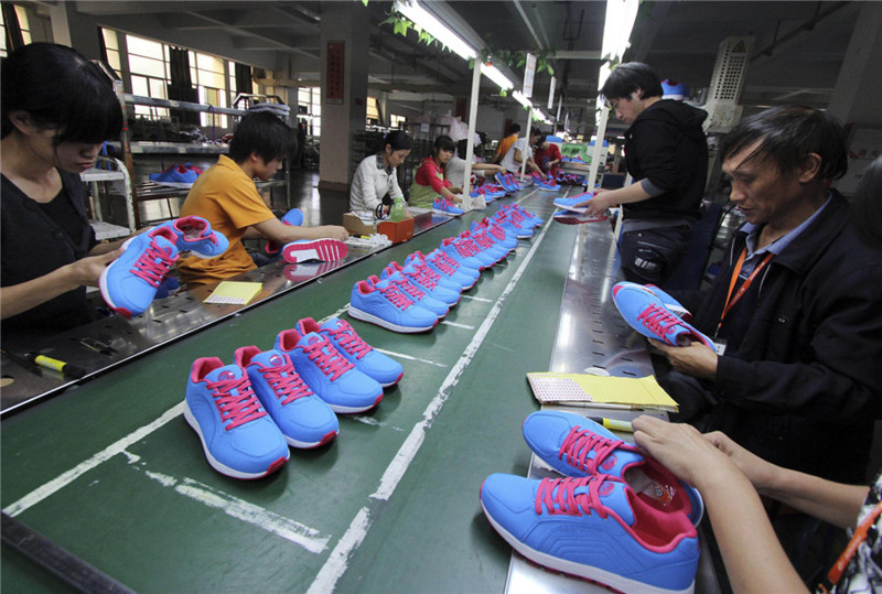 Global footwear production shows positive dynamics