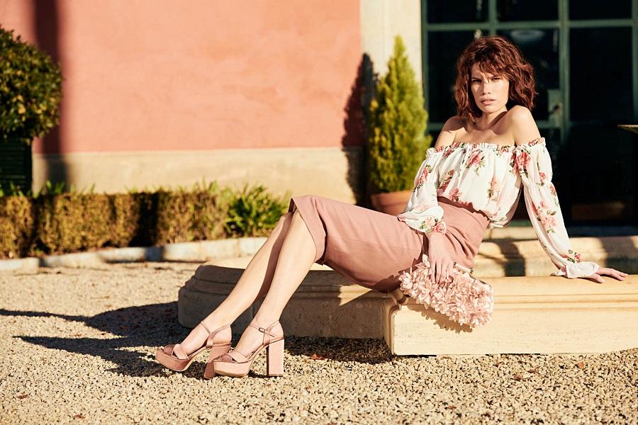 Imagen publicitaria de la colección de zapatos Econika primavera-verano'18