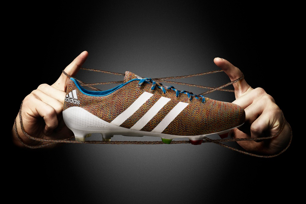 Adidas created the world's first knit boots