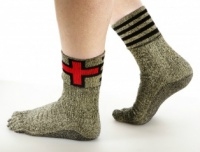 The Swiss released socks to replace shoes. Video