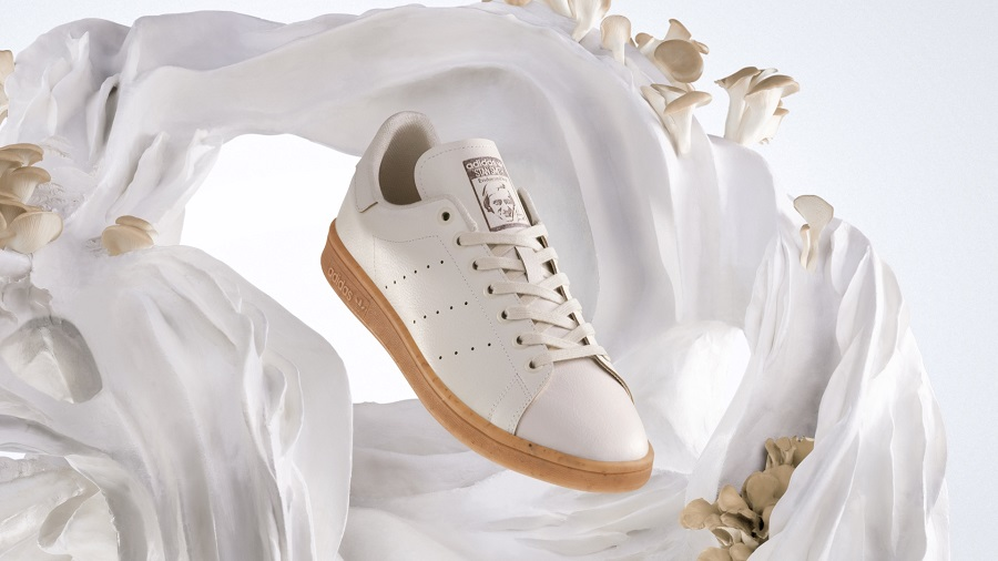 Adidas has released sneakers from leather synthesized from mushrooms