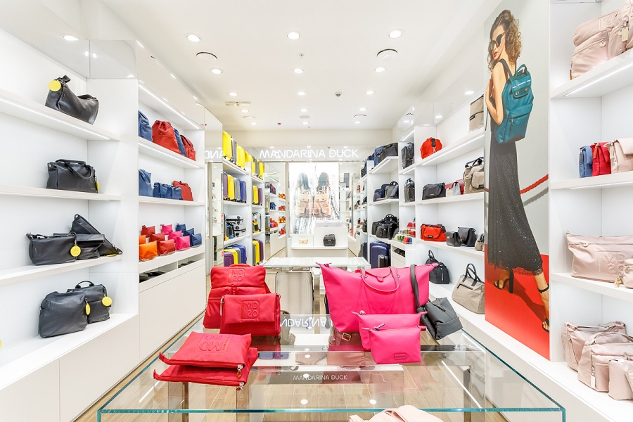 The flagship Mandarina Duck opened in Moscow
