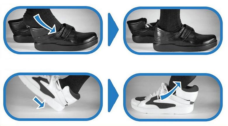 Invented shoe block