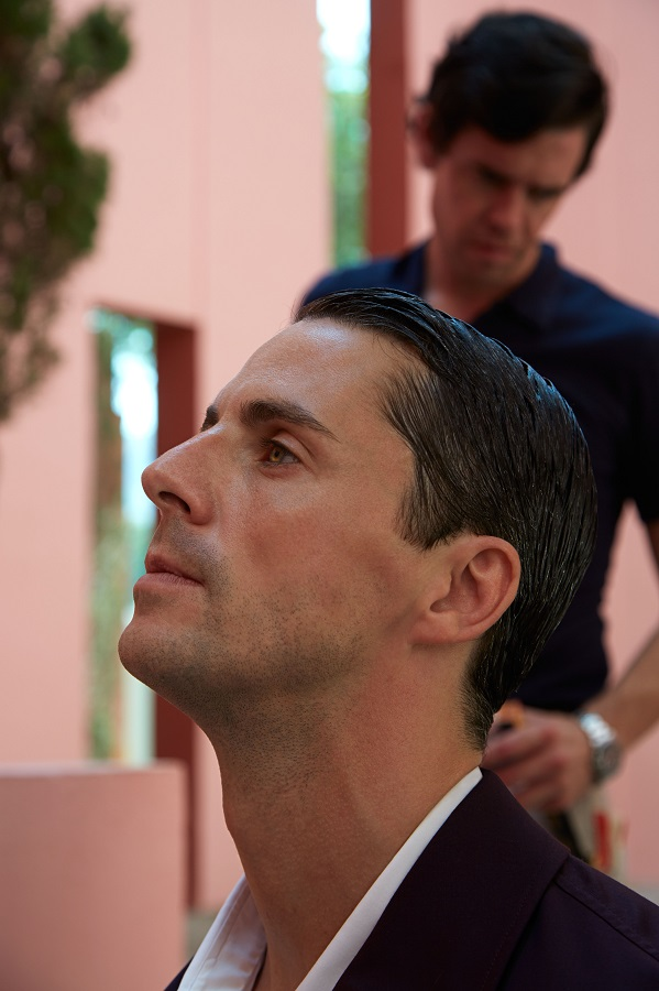 Pal Zileri made the face of actor Matthew Goode's advertising campaign