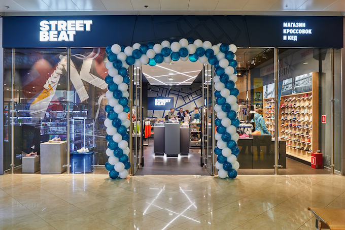 New Street Beat stores in Moscow