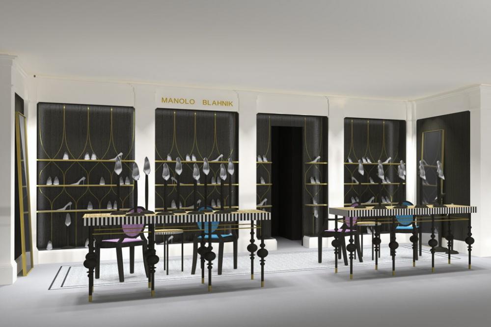 New Manolo Blahnik boutique in central London