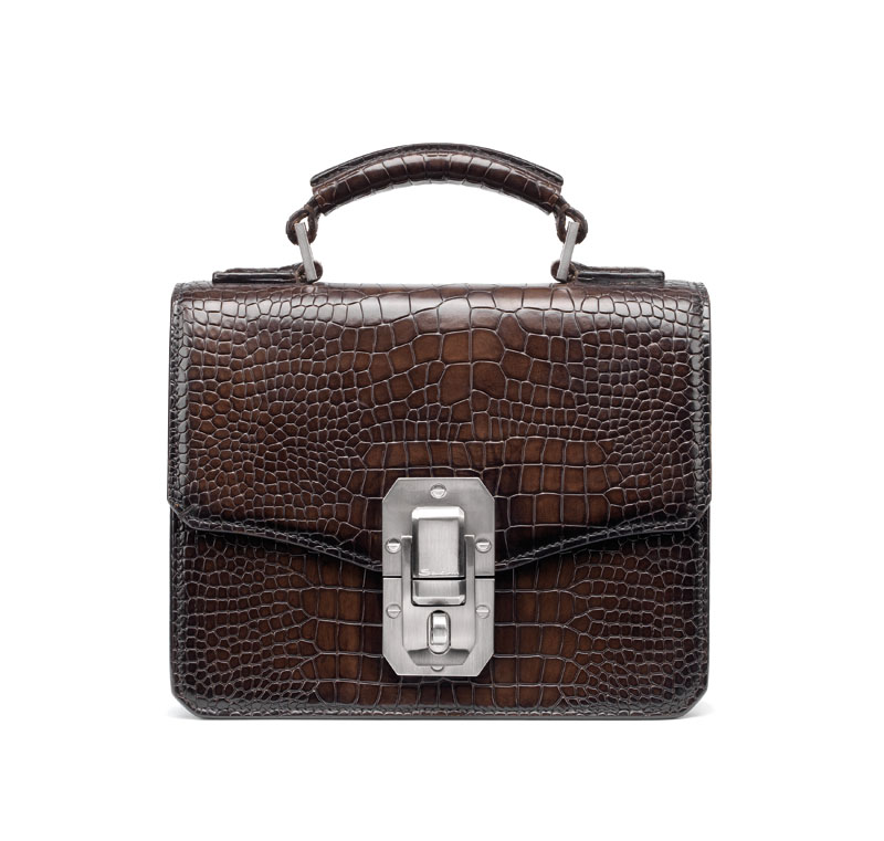 Santoni presents a new clutch from the fall-winter collection 2016