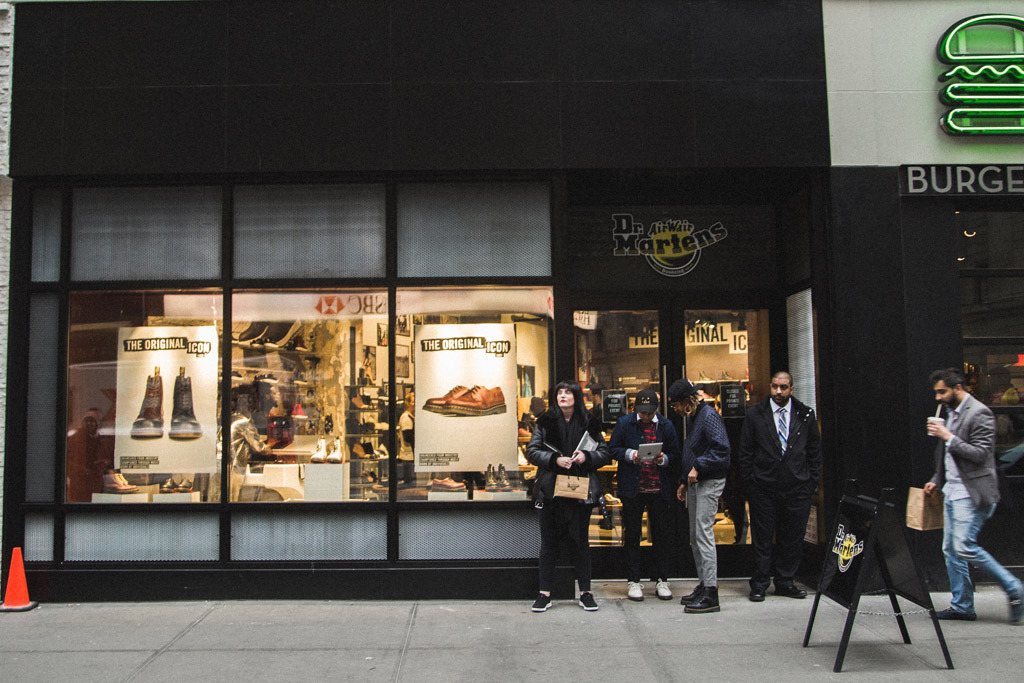 Dr. Martens opened a flagship store in New York