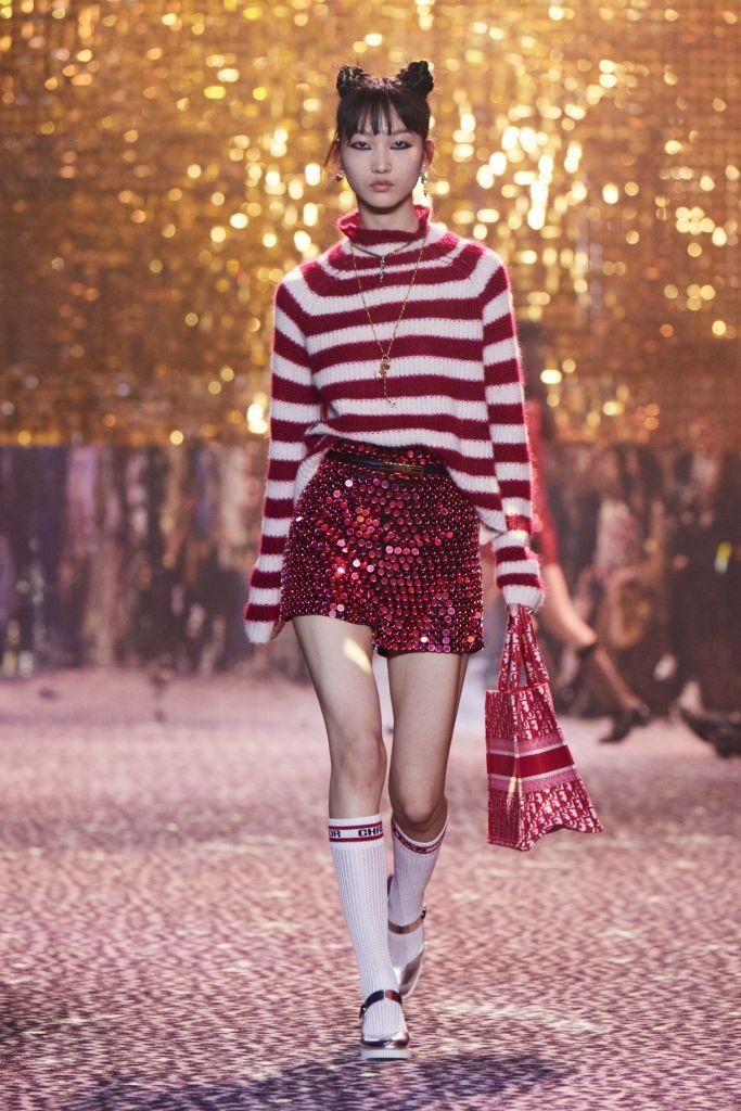 Dior Fall'21 show at Shanghai Fashion Week