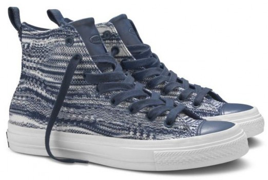 Converse and Missoni released a joint collection of shoes