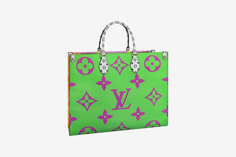 68f190ddf5cf Louis Vuitton выпускает капсульную коллекцию красочных сумок с ...
