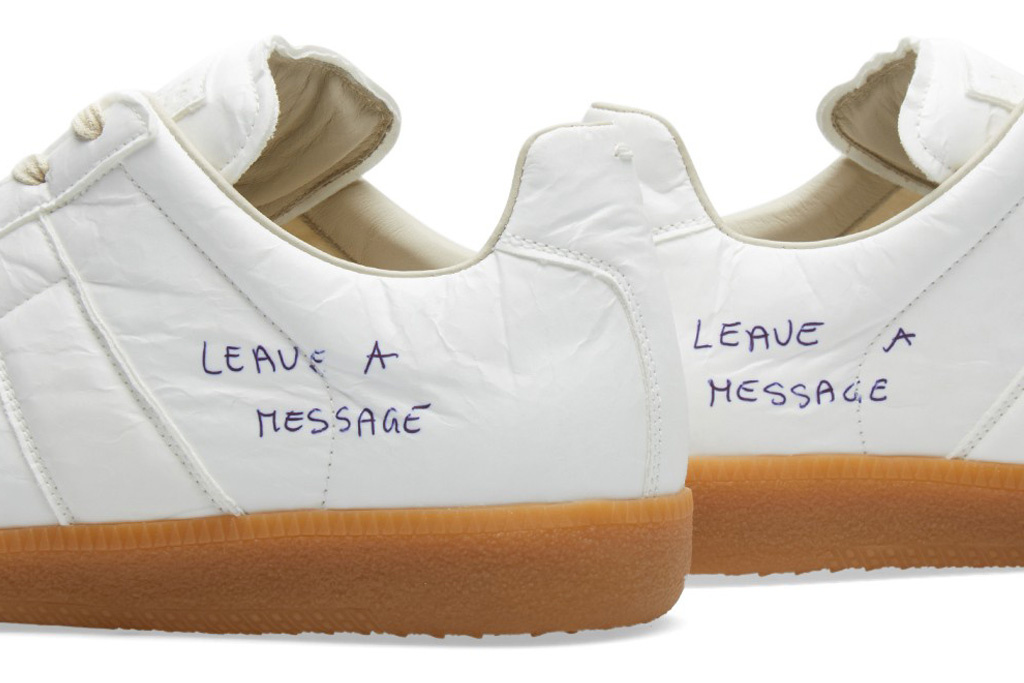 Maison Margiela offers to draw on sneakers for $ 500